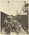 KITLV - 2565 - Kleingrothe, C.J. - Medan - Arrivals of South Chinese contract workers in the port of Belawan at the east coast of Sumatra - circa 1903.tif