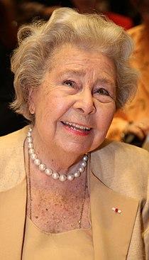 KS Christa Ludwig, geboren am 16. März 1928 in Berlin, deutsche Opern- und Konzertsängerin (Mezzosopran) wurde zur Ehrenpräsidentin der Hilde Zadek Stiftung ernannt. (17122239712) (cropped).jpg