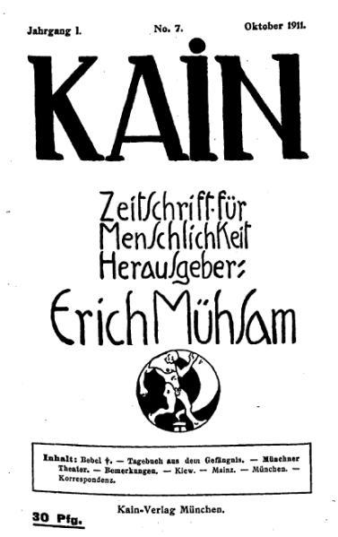 File:Kain – Zeitschrift für Menschlichkeit 1-7.djvu