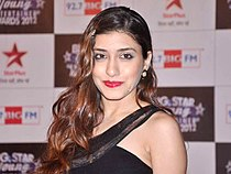 Kainaz Motivala at the BIG STAR Young Entertainer Awards 2012.jpg