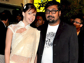 Anurag Kashyap - Kashyap, with his then-wife Kalki Koechlin at the 2009 Filmfare Awards