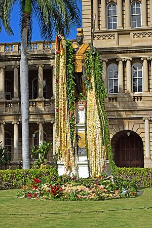 Kamehameha Day - Considered a great statesman for his mastery of diplomacy, Kamehameha was known as the Napoleon of the Pacific.