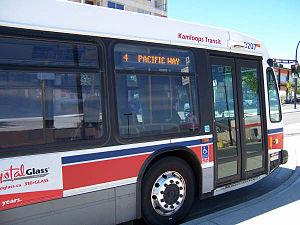 Kamloops Transit System - Image: Kamloops Transit 9207
