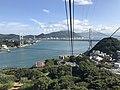 Kammonkyo Bridge from Hinoyama Ropeway 2.jpg
