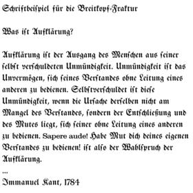 Fraktur Schrift Wikipedia