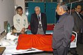 Kapil Sibal and the Union Minister for Panchayati Raj and Development of North Eastern Region, Shri Mani Shankar Aiyar meet the bomb blast victims, in Guwahati, Assam on January 02, 2009.jpg