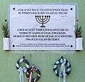 Kaposvár Holocaust emléktábla.JPG