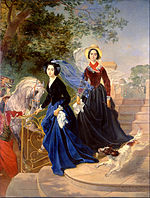 Karl Brullov - Portrait of the Shishmareva Sisters - Google Art Project.jpg