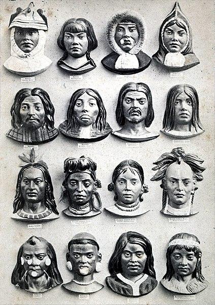 5 Races in 1862