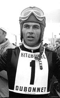 Karl Schranz Austrian alpine skier