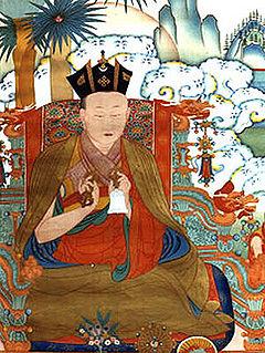 Black Crown symbol of the Karmapa lama in Tibetan Buddhism