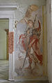 Kartause Mauerbach - bei der Restaurierung freigelegtes Fresko - Detail rechts.jpg