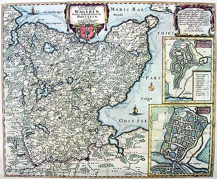 Haithabu Karte.Wagria Wikiwand