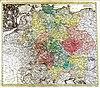 100px karte von deutschland in seinen grenzen%2c l%c3%a4ndern und kreisen%2c 1741