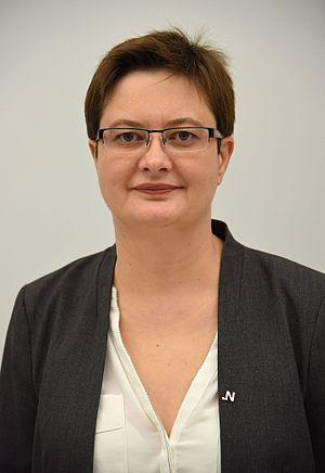 Next Polish parliamentary election - Image: Katarzyna Lubnauer Sejm 2016