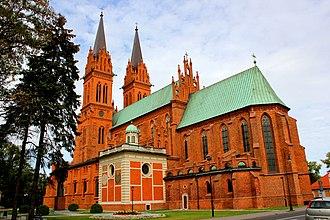 Kuyavia - Image: Katedra p.w. Wniebowzięcia NMP we Włocławku 1 N. Chylińska