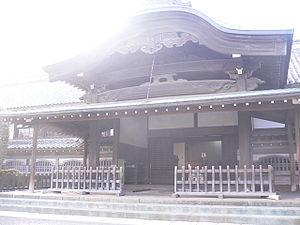 Kawagoe Castle - Image: Kawagoe castle Honmaru 2006 02 12