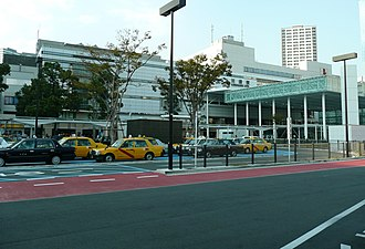 Kawasaki Station - The east side of the station in October 2011