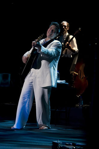 K.d. lang - Lang performing at Hamer Hall in Melbourne, Australia, in 2008