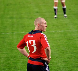 Keith Earls - Earls playing for Munster
