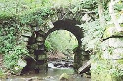 Old bridge near Kennerdell