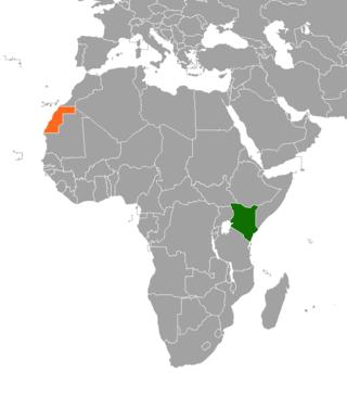 Kenya–Sahrawi Arab Democratic Republic relations Diplomatic relations between the Republic of Kenya and Sahrawi Arab Democratic Republic