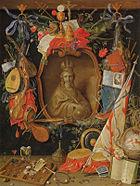 Kessel, Jan van the Elder - Ecclesia umgeben von den Symbolen der Vergaenglichkeit -.jpg