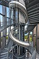 Keutschach Pyramidenkogelturm Rutsche und Treppe 01052020 8924.jpg