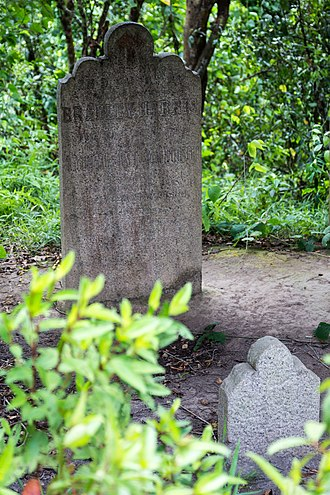 """Thomas Bradley Harris - Harris grave at the """"Governor's Hill"""" in Kimanis."""