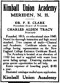 Kimball Union Academy advertisement 1909.png