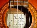Kimbara Acoustic Guitar Model 169 sound hole.jpg