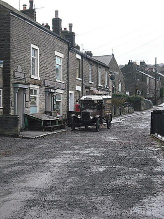 The Village (2013 TV series) - A street from the series