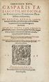 Kirurgen Gaspare Tagliacozzis skrift om hudtransplantationer för att återskapa näsor - Skoklosters slott - 102618.tif