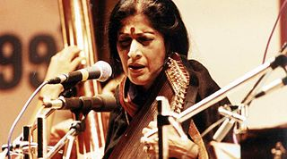 Kishori Amonkar Indian classical singer