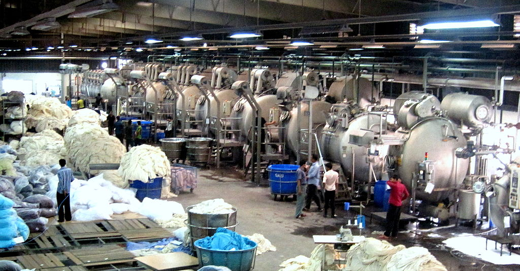 File:Knit Fabric Production in a RMG factory of Bangladesh