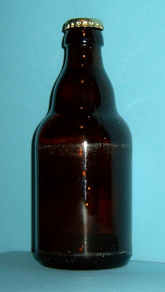 Beer bottle - German 330ml Steinie