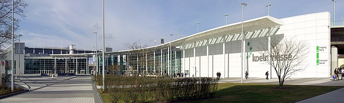 Koelnmesse North Entrance