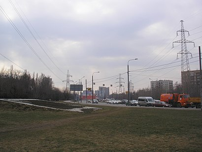 How to get to Улица Комдива Орлова with public transit - About the place