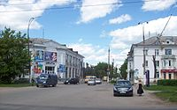 Komsomolskaya and Beryozovaya crossroad.jpg