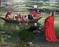 Konrad witz, pesca miracolosa, 1444, 02.JPG