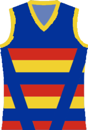 Central Murray Football League - Image: Koondrook Barham Football Club jumper