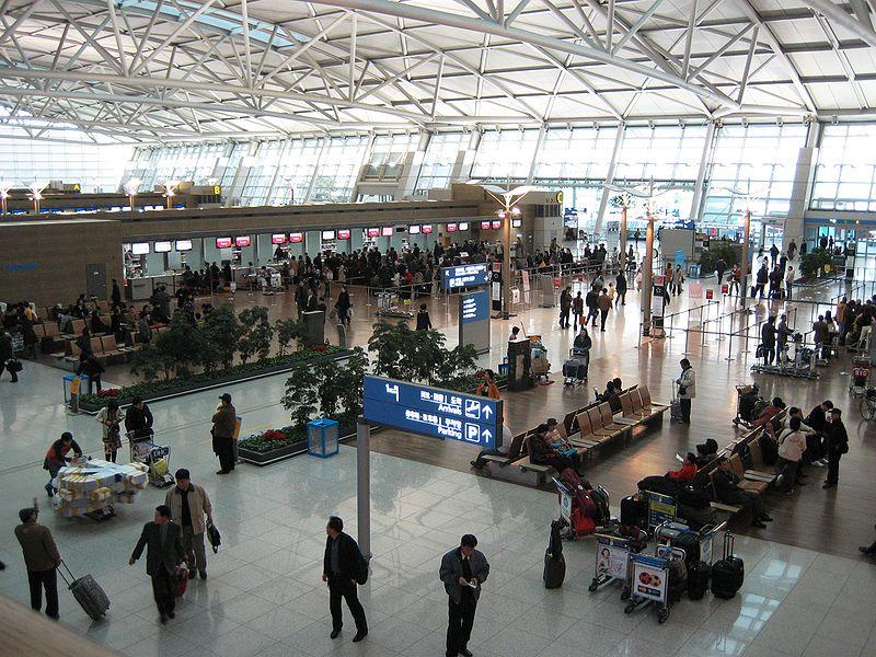 File:Korea-Incheon-International-Airport-Deperture-lobby-check-in-counter.JPG