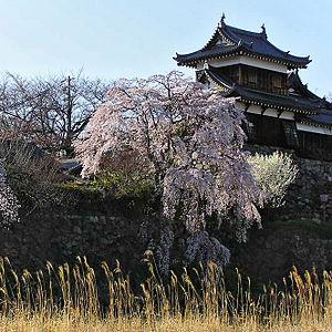 Nara Prefecture - The restored turret of Kōriyama Castle