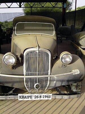 Heinrich Kreipe - Image: Kreipe Wagen