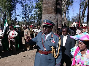Kuaima Riruako - Kuaima Riruako on Herero Day 2006