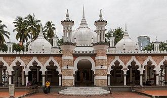 Arthur Benison Hubback - Jamek Mosque