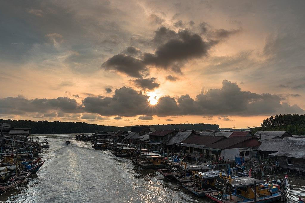 Kuala Sepetang Sunset