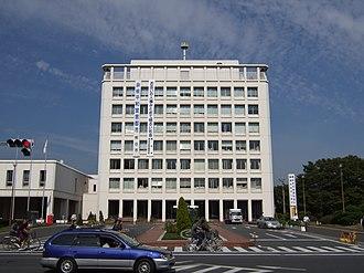Kumagaya, Saitama - Image: Kumagaya city hall