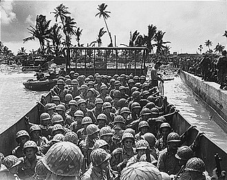 Marshall Islands - Battle of Kwajalein in 1944