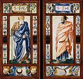 Léonard Limosin - St Paul and St Thomas - WGA13042.jpg